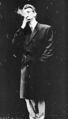 David Bowie (photo by Anton Corbijn). Angela Bowie, David Bowie, Clint Eastwood, Duncan Jones, The Thin White Duke, Black White, Fritz Lang, Major Tom, La Mode Masculine
