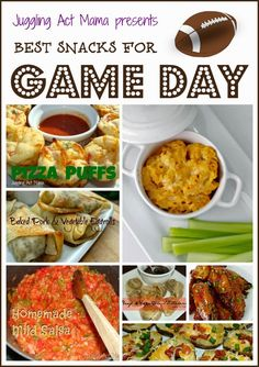 Best Game Day Snacks - Juggling Act Mama