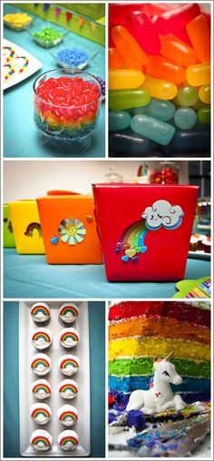 Half Baked – The Cake Blog » Real Party: Rainbows & Unicorns