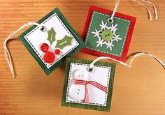gift tags by Rosbi