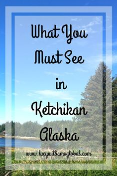Ketchikan is in Alaska and is a place that you go to if you go on an Alaskan cruise. What must you see in Ketchikan? What is there to see and do? Usa Travel Guide, Travel Advice, Travel Usa, Travel Tips, Travel Ideas, Travel Hacks, Travel Destinations, Travel Stuff, Amazing Destinations