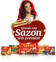 Promoção quando tem Sazón, tem prêmios!