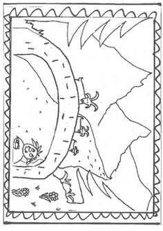 billy goats gruff coloring page big billy goat troll coloring