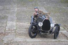 Bugatti Brescia at Brooklands