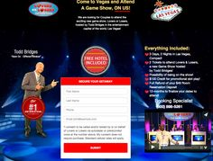 Get a Free Trip to Vegas!   $100 credit for slot play and attend a NEW Game Show!
