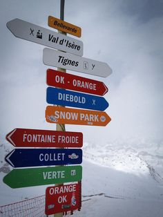 Which piste next? Val D'Isere by Helidixon, via Flickr