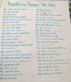Pourquoi tale topics for argumentative essays