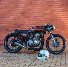 Honda CB550 #caferacer discover #motomood