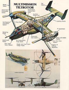 #V-22 #Cutaway #USMC