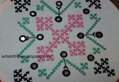 artisticfingers: Kutch embroidery