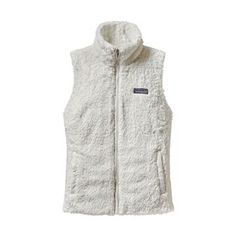 Free Shipping Available | The Women's Los Gatos Vest by Patagonia is crafted from deep-pile fleece to keep your core cozy and warm on those cool fall and winter nights.
