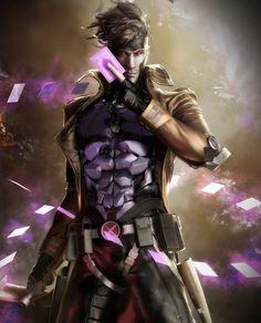 holy shit gambit lookin lit
