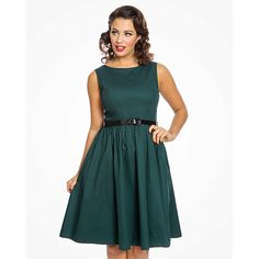Popular 'Audrey' sleeveless swing dress, Made from a good quality stretch cotton fabric. Sleeveless Swing Dress, Dark Teal, Boho, Fabric, Cotton, Model, Dresses, Closet, Fashion
