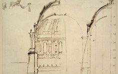 Christopher Wren drawing