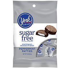 Low Carb Sugar Free Chocolate Mint York Peppermint Patties - Low Carb    #lowcarb #sugarfree