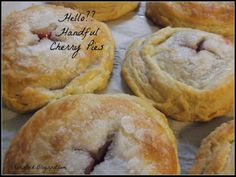H is for Hello?? Handful Cherry Pies