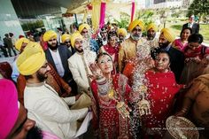 Outdoor Sikh Wedding Ceremony at Tampa Bay Museum of Art – What a unique ceremony