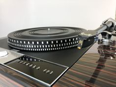 Garrard 401 Turntable with Custom Palisander Plinth and SME-309 Tonearm | Turntables | Ridgewood, New Jersey 07450 | Audiogon Hifi Audio, Power Cable, Espresso Machine, High Gloss, How To Look Better, Piano, Base, Garrard Turntable, Amazing