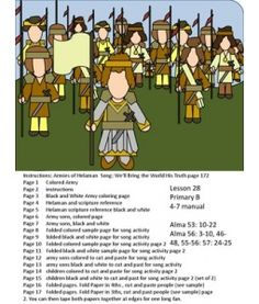 anti nephi lehi coloring page - 1000 images about church b of m helaman on pinterest