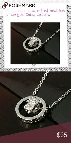 Heart shaped pendant on chain Platinum Plated heart shaped Necklace Pendants Cubic Zirconia length Jewelry Necklaces Heart Shaped Necklace, Platinum Jewelry, Heart Shapes, Jewelry Necklaces, Buy And Sell, Fashion Design, Fashion Trends, Pendants, Cosmetics