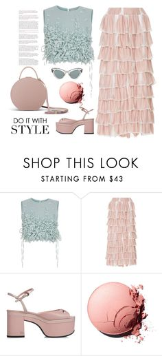 """""""Pink"""" by erindream ❤ liked on Polyvore featuring Ruban, PH5, Rochas, Chanel and Miu Miu"""