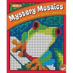 Mystery Mosaics: Book 2 Coloring Book