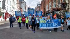 999 Call for the NHS - can you join the march? Can you donate? Arriving in London 6th September 2014 http://999callfornhs.org.uk/ https://www.facebook.com/999CallForTheNhs/photos/pcb.674447319312460/674447039312488/?type=1