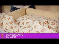 EVANGELIZARTE   CAMA PET   CAMINHA PARA CÃES E GATOS - YouTube