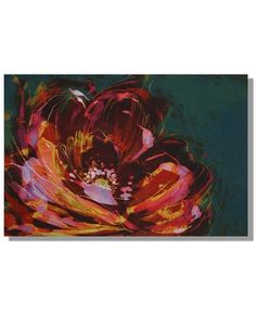 Peony Canvas Art by Monsoon