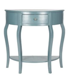 Loving this Navy Malcom Small Console on #zulily! $149.99 More lovely than the white one