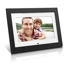Aluratek 10 Digital Photo Frame with 4GB Video Support Black ADMPF410T -- You can get additional details at the image link.