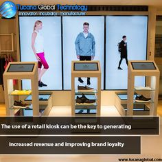 The use of a #retail #kiosk can be the key to generating increased #revenue and improving #brand #loyalty. #TucanaGlobalTechnology #Manufacturer #HongKong