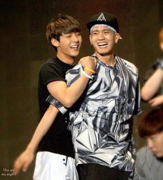 Minhyuk and Peniel #BTOB