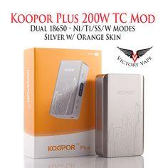 SMOK Koopor Plus 200W TC VV/VW Mod • Temp Control • w/ Skin • Ni/Ti/SS – Victory Vape