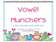 Grab this cute *freebie* and have your kiddos practice sorting short and long vowels with the love monsters.