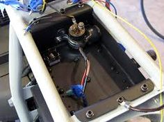 mounting ignition in battery tray  motorcycle wiring, custom motorcycle  parts, motorcycle battery,