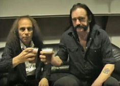 Ronnie James Dio and Lemmy Portsmouth, Hampshire, James Dio, Music Bands, John Wick, Rock N Roll, My Love, Fictional Characters, Random