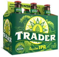 Uinta Brewing Co. Trader Session IPA 12oz. 6-Pack - designed by Emrich Office