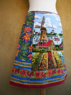 Hollandse Lente borduurwerk Anokhi houtblokdruk door LUREaLURE