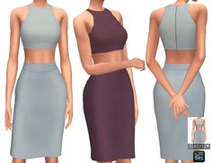 Sims 4 Updates: Simista - Clothing, Female : Alexa Dress Collection, Custom Content Download!