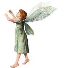 Яндекс.Фотки ❤ liked on Polyvore featuring fairies and green fairies