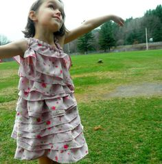 The Lots of Layers Garden Party Dress Tutorial (Kind Of)