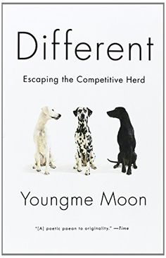 Different: Escaping The Competitive Herd by Youngme Moon The book is related to genre of Psychology format of book is PDF, EPUB, MOBI and size of books Free Books Online, Penguin Random House, Book Cover Design, Great Books, Book Recommendations, Reading Lists, So Little Time, Book Review, Decir No