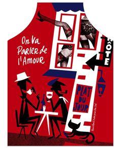 La Vie en France / Kitchen apron