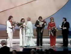 Brotherhood of Man, winner of the Eurovision Song Contest 1976 with Tony Hiller and Getty Kaspers