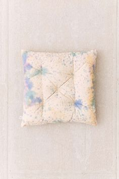Hanna Drop Cloth Floor Pillow - Urban Outfitters - Replicate