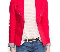 Colección Mango primavera verano 2012: blazer a la ultima moda