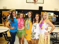 93d3e5d315 14 Best Girls night out - Hawaiians Party Theme images