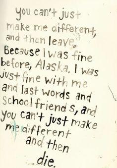 Flickr Eine Wie Alaska Zitate John Green Zitate Inspirierende Zitate Alaska Young