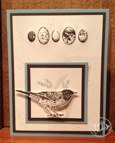 Stampin' Up! Nature Walk stamp set.